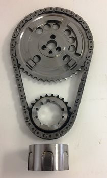 LS Billet Timing Set - Single Row, 4x, 9 Key-way Adjustable, With  Ultra-Strong Chain