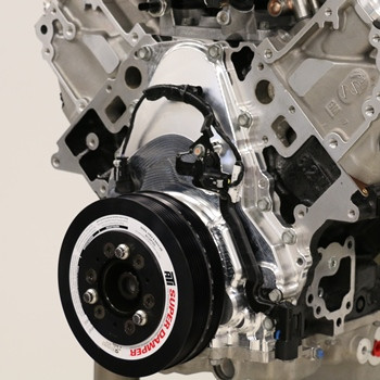 Gen 5 LT VVT Delete Billet Front Timing Cover (Wet Sump)