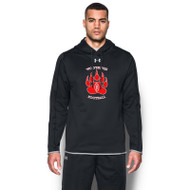 WMF Under Armour Men's Double Threat Fleece Hoody - Black (WMF-001-BK)