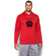 WMF Under Armour Men's Double Threat Fleece Hoody - Red (WMF-001-RE)