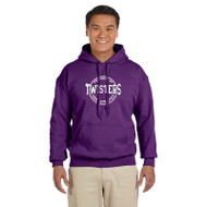 TCA Gildan Adult Heavy Blend Hoody - Purple (TCA-011-PU)