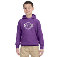 TCA Gildan Youth Heavy Blend Hoody - Purple (TCA-046-PU)