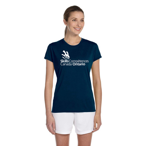 SON Apparel Women's Short Sleeve Shirts - Navy (SON-031-NY)