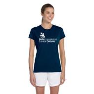 SON Apparel Women's Short Sleeve Shirts - Navy (SON-031-NY)