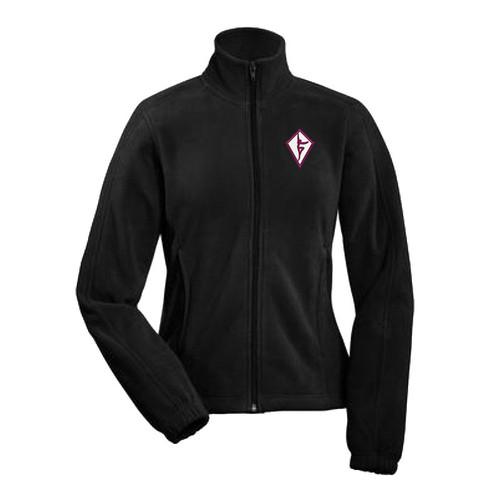 SDC Coal Harbour Women's Polar Fleece Jacket - Black (SCD-031-BK)