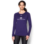 SCD Under Armour Women's Long Sleeve Locker T-Shirt - Purple