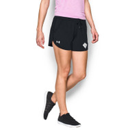 SCD Under Armour Women's Assist Short - Black (SCD-024-BK)