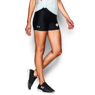 SCD UA Women's Heatgear Ultra Compression Short - Black