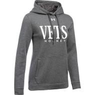 WNV Under Armour Women's Hustle Fleece Hoody - Carbon (WNV-022-CB)