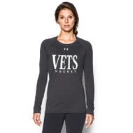WNV Under Armour Women's Long Sleeve Locker T-Shirt - Carbon (WNV-024-CB)