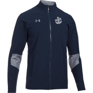 WNV UA Men's Squad Woven Warm-Up Jacket - Navy/Steel (WNV-005-NY)