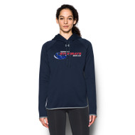 NSW Under Armour Women's Double Threat Armour Fleece Hoody - Midnight Navy (NSW-028-NY)