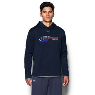 NSW Under Armour Men's Double Threat Fleece Hoody - Midnight Navy (NSW-101-NY)