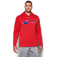 NSW Under Armour Men's Double Threat Fleece Hoody - Red (NSW-101-RE)
