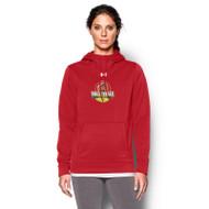 OCAA Under Armour Women's Storm Armour Fleece Hoody - Red (OCA-021-RE)