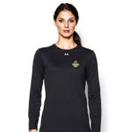 OCAA Under Armour Women's Locker Long Sleeves T-Shirt - Black (OCA-022-BK)