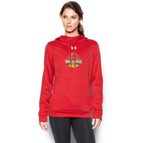 OCAA Under Armour Women's Novelty Armour Fleece Hoody - Red (OCA-023-RE)