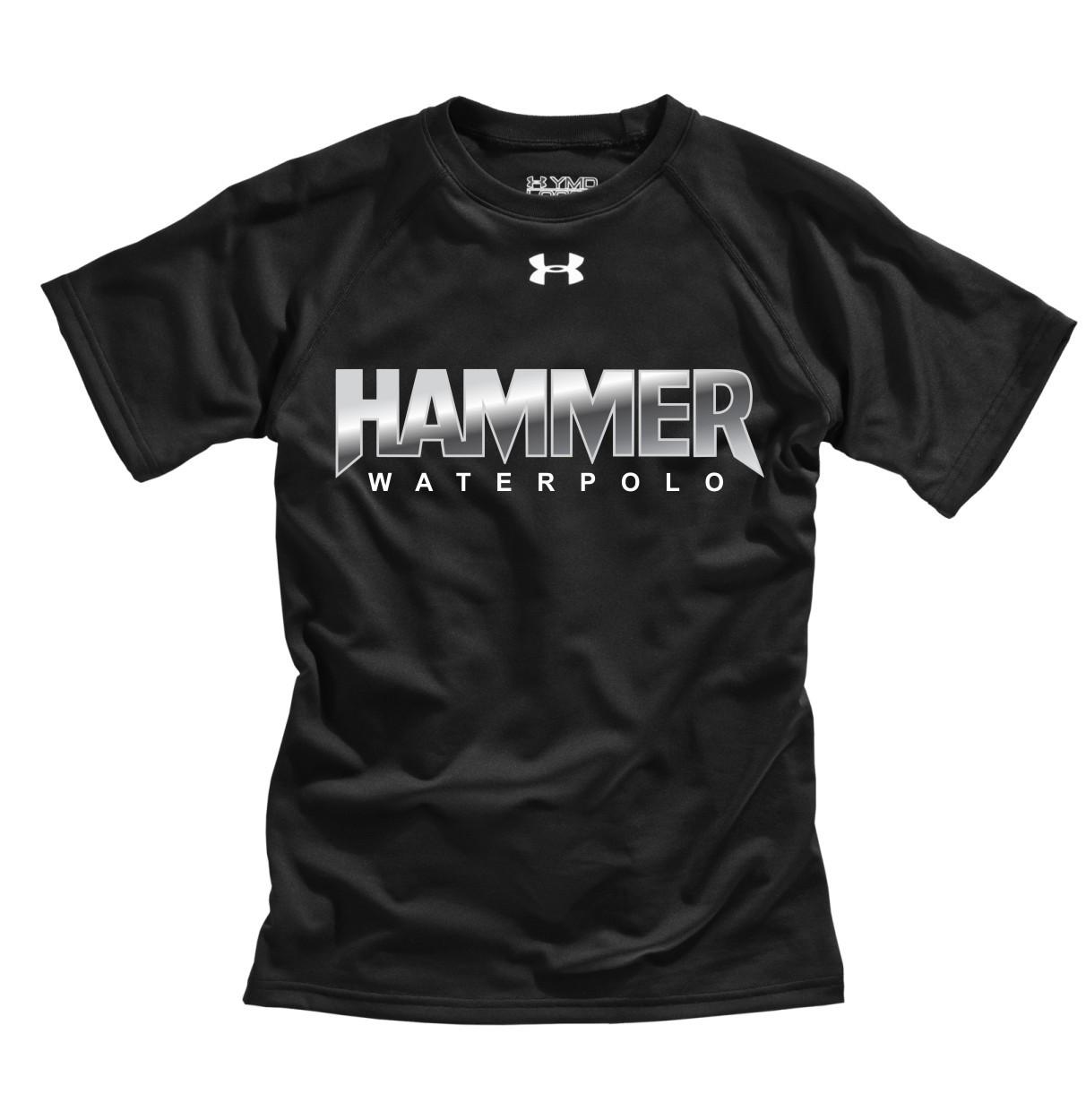 5e7c354f Hammer Under Armour Youth Short Sleeves Locker Tee - Black | YouWear.ca