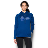 GMB Under Armour Women's Double Threat Fleece Hoody - Royal (GMB-072-RO)