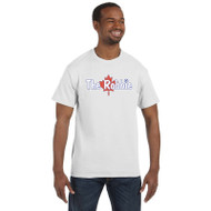 ROB Gildan Ultra Cotton Men's T-Shirt - White (ROB-011-WH)
