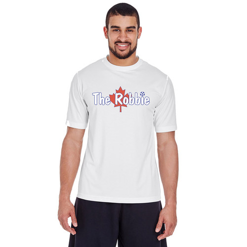 ROB Men's Zone Performance Tee - White (ROB-012-WH)