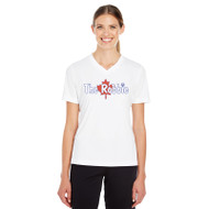 ROB Women's Zone Performance Tee - White