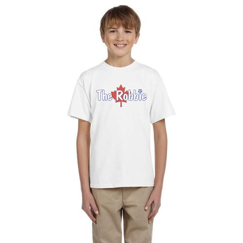 ROB Gildan Ultra Cotton Youth T-Shirt - White (ROB-046-WH)
