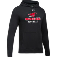 BMF Under Armour Men's Hustle Fleece Hoody - Black (BMF-009-BK)