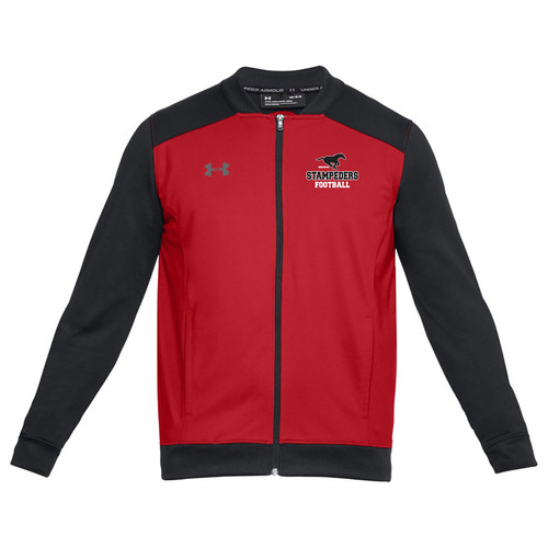BMF Under Armour Men's Challenger Track Jacket - Red (BMF-010-RE)