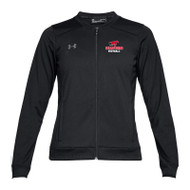 BMF Under Armour Women's Challenger Track Jacket - Black (BMF-023-BK)