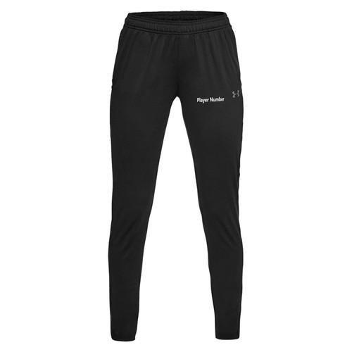 BMF Under Armour Women's Challenger Track Pants - Black (BMF-027-BK)