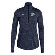 GPR Women's Under Armour Novelty 1/2 Zip - Navy (GPR-206-NY)