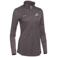 GPR Women's Under Armour Novelty 1/2 Zip - Charcoal (GPR-206-CH)