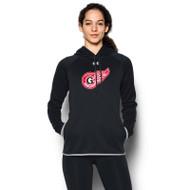 GRW Under Armour Women's Double Threat Hoody - Black (GRW-201-BK)