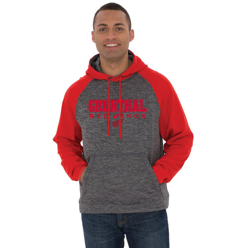 GRW ATC Dynamic Heather Fleece Hooded Men's Sweatshirt - Charcoal Dynamic (GRW-102-CD)