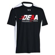 DEAA Under Armour Men's Team Raid Colorblock T-Shirt - Black (DEA-101-BK)