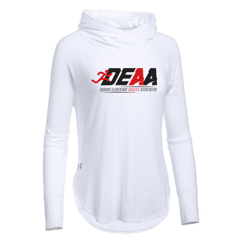 DEAA Under Armour Women's Stadium Hoodie- White (DEA-206-WH)