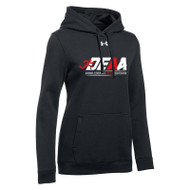 DEAA Under Armour Women's Hustle Fleece Hoodie - Black (DEA-211-BK)