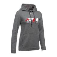 DEAA Under Armour Women's Hustle Fleece Hoodie - Carbon (DEA-212-CB)