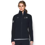 PVC Under Armour Women's Squad Woven Warm-Up Jacket - Black (PVC-201-BK)