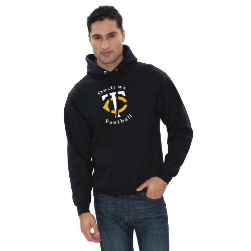 TCO ATC Everyday Fleece Hooded Sweatshirt - Black (TCO-102-BK)