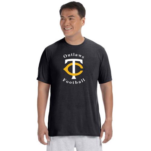 TCO Gildan Performance Tee - Black (TCO-104-BK)