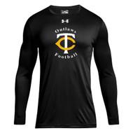 TCO Under Armour Men's Long Sleeve Locker Tee - Black (TCO-105-BK)