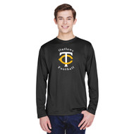 TCO Team 365 Men's Zone Performance Long-Sleeve T-Shirt - Black (TCO-106-BK)