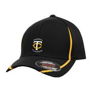 TCO ATC By Flexifit Performance Colour Block Cap - Black (TCO-051-BK)