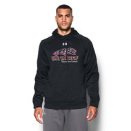 UCC Under Armour Men's Novelty Armour Fleece Hoody - Black (UCC-104-BK)