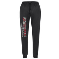 UCC Biz Collection Men's Hype Sports Pant - Black (UCC-105-BK)