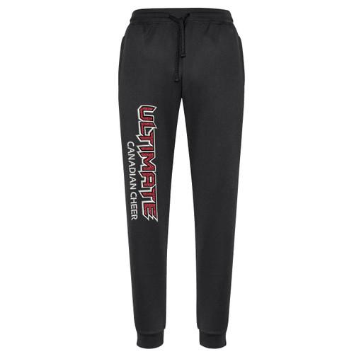 UCC Biz Collection Women's Hype Sports Pant - Black (UCC-205-BK)