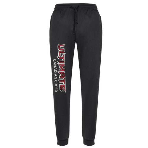 UCC Biz Collection Youth Hype Sports Pant - Black (UCC-305-BK)
