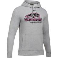 UCC Under Armour Men's Hustle Fleece Hoody - True Grey (UCC-101-TG)
